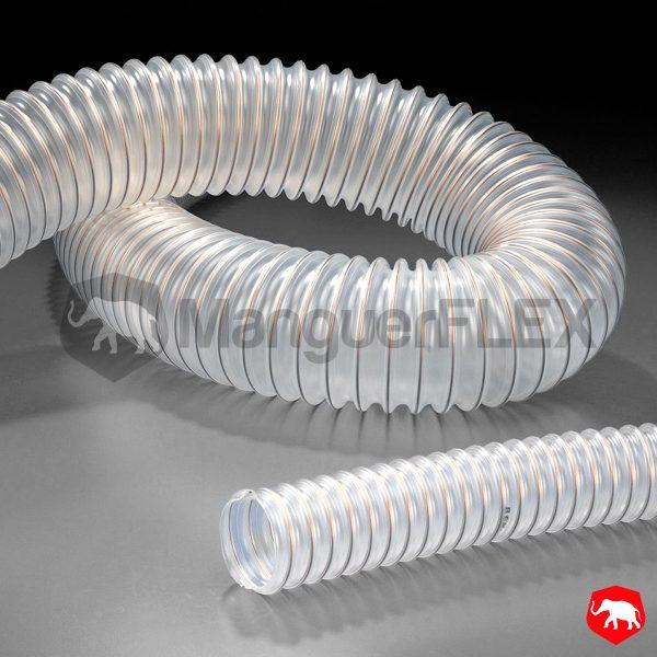 tubo de aspiración flexible de poliuretano