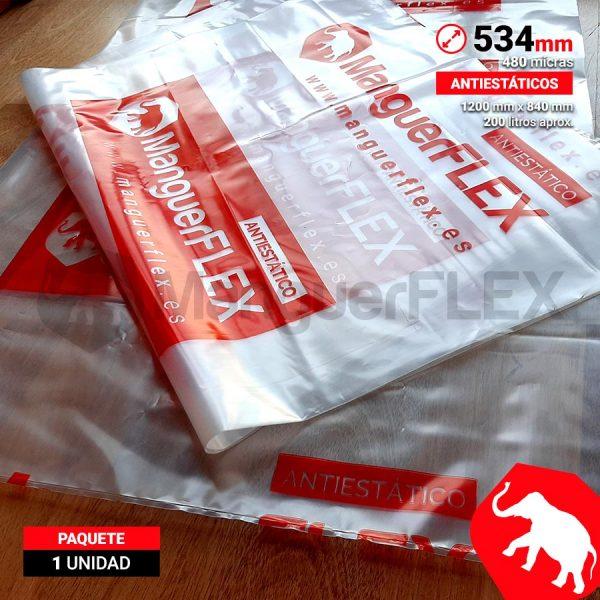 Bolsas de Plástico para Aspiradores 534 mm de diámetro 1 Unidad