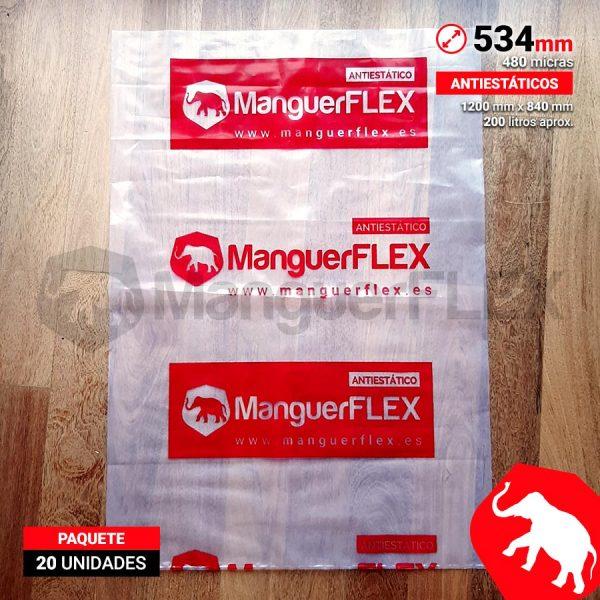 Bolsas de Plástico para Aspiradores 534 mm de diámetro 20 Unidades