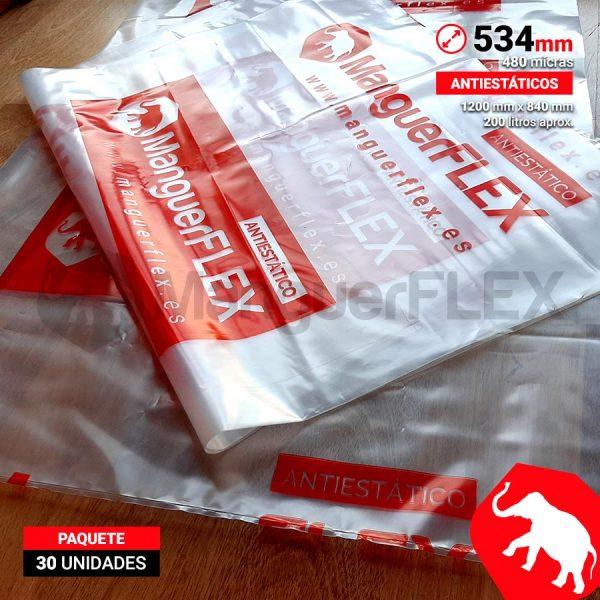 Bolsas de Plástico para Aspiradores 534 mm de diámetro 30 Unidades