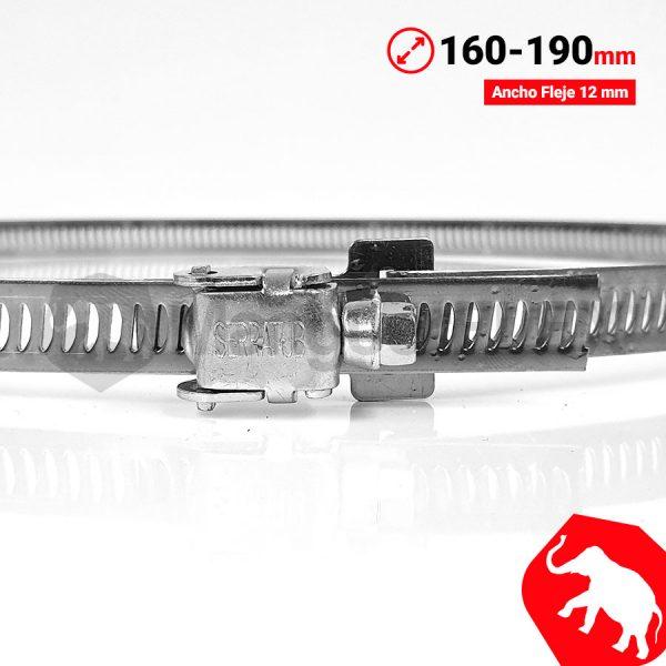 Abrazadera 160 190