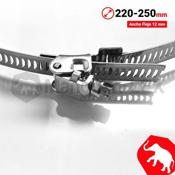 Abrazadera 220 250