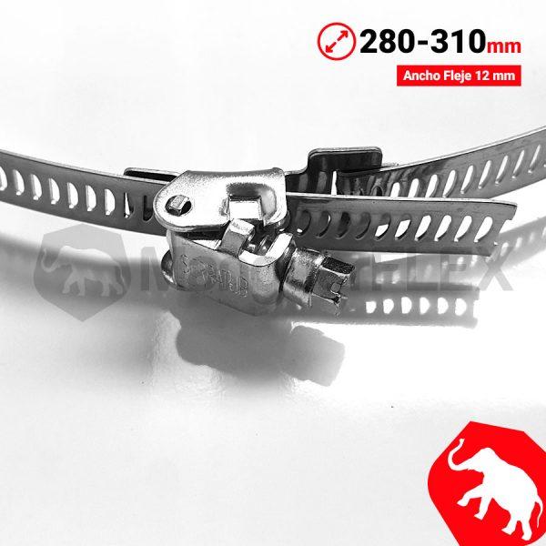 Abrazadera 280 310